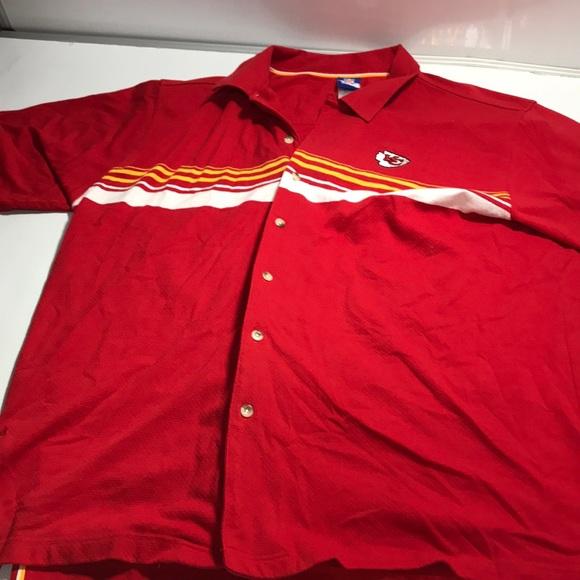 d280850453c NFL Shirts | Reebok Kansas City Chiefs Button Up Shirt Mens | Poshmark
